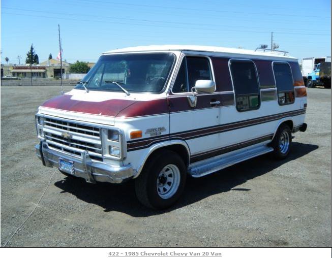 Van chevy 1985